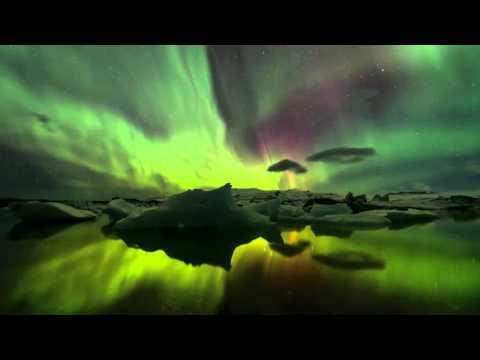 AURORES BOREALES D'ISLANDE HD 1080p