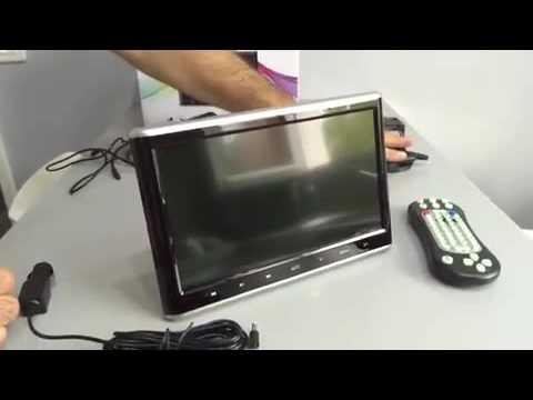 pumpkin 10 1 pouce appuie t te ecran lecteur dvd commentaires youtube. Black Bedroom Furniture Sets. Home Design Ideas