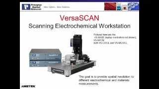 Electrochemistry - VersaScan Scanning Electrochemical Microscope (SECM)