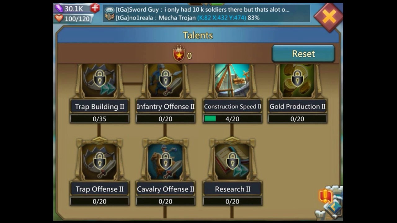 Lords Mobile - Player Level Up Guide
