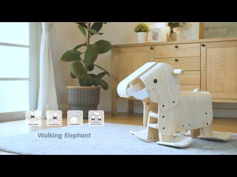 PlanToys   Walking Elephant