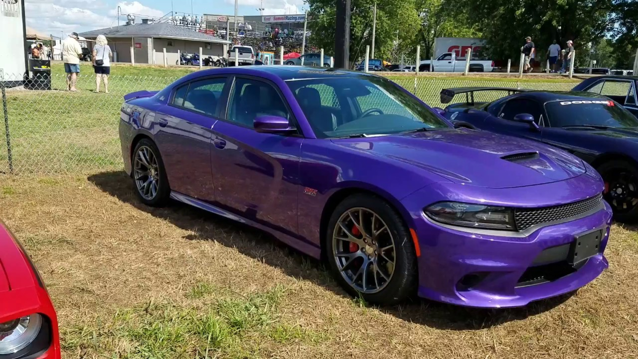 Deep Purple Dodge Charger Pack 392