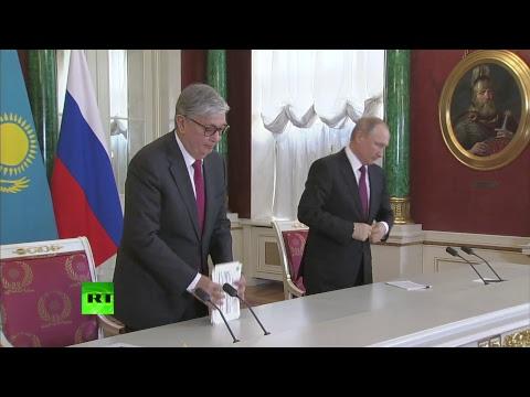 Путин и Токаев