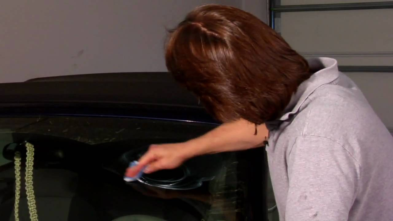 Remove Car Scratches With Toothpaste >> Car Repair & Maintenance : Removing Scratches From Car Windshields - YouTube