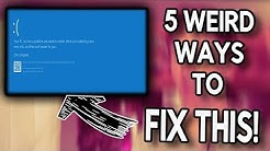 How To FIX a Blue Screen on Windows 10