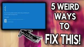How to FIX Blue Screen of Death | Top 5 Weirdest Computer Problems