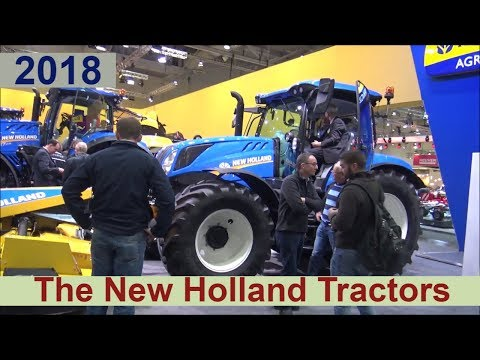 New Holland Tractors 2018 - Show Room Germany