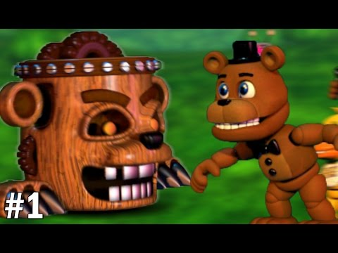 Freddy Plays: FNAF World #1 || CHIP OFF THE OLD BLOCK