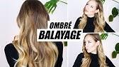 Balayage Ombré AnleitungSträhnchen zu Hause selber färben »Lalalunia«