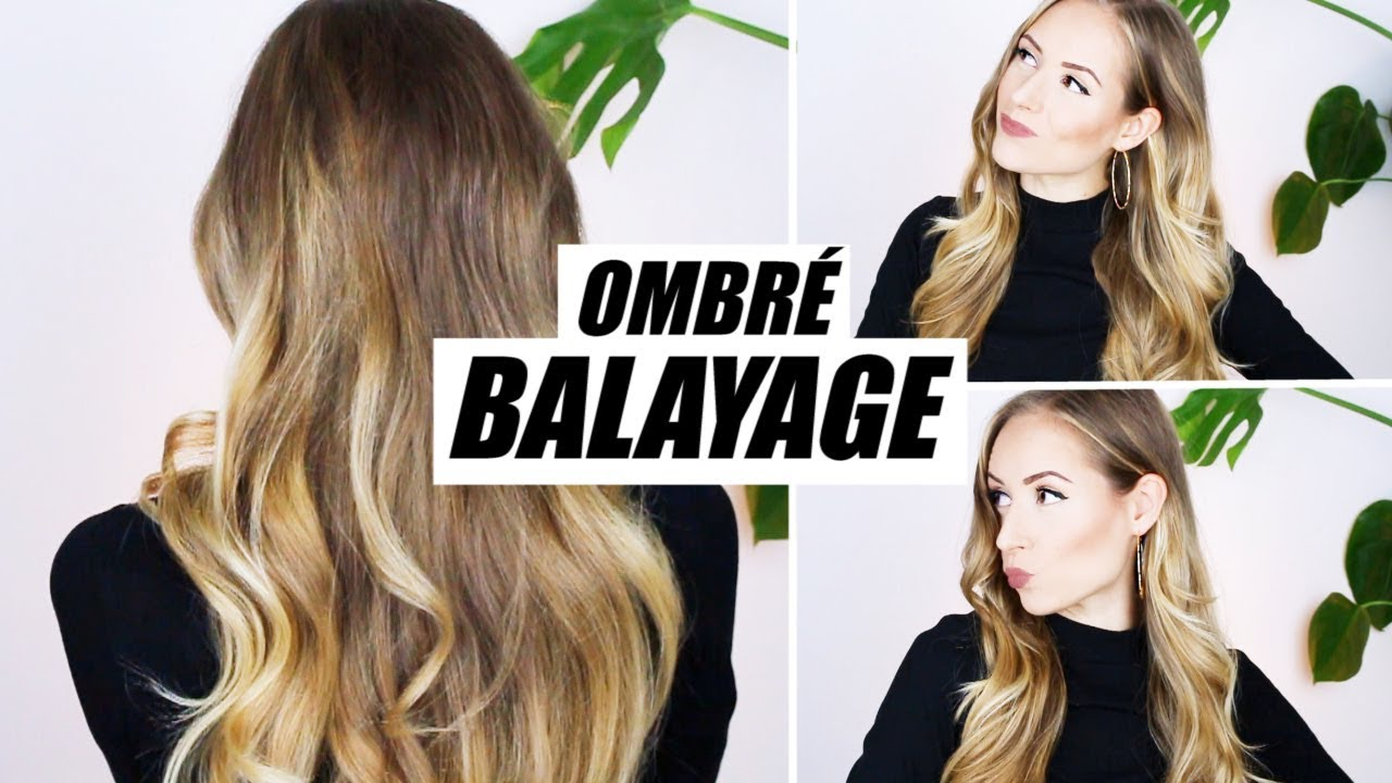 Balayage Ombre Anleitung Strahnchen Zu Hause Selber Farben