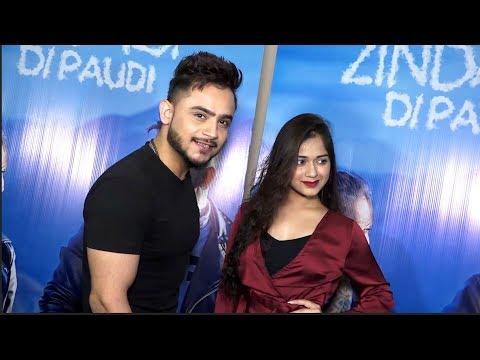 Millind Gaba  with  Jannat zubair | zindagi di paudi song Launch