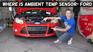 Gambar cover WHERE IS THE AMBIENT AIR TEMPERATURE SENSOR ON FORD. AMBIENT AIR TEMP NOT WORKING