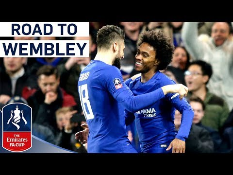Last Year's Finalists Back at Wembley!   Chelsea's Road to Wembley