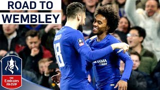Last Year's Finalists Back at Wembley! | Chelsea's Road to Wembley