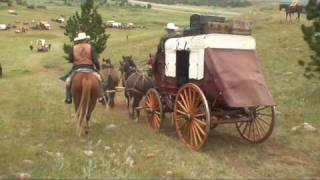 Stagecoach Driving in the Dakotas