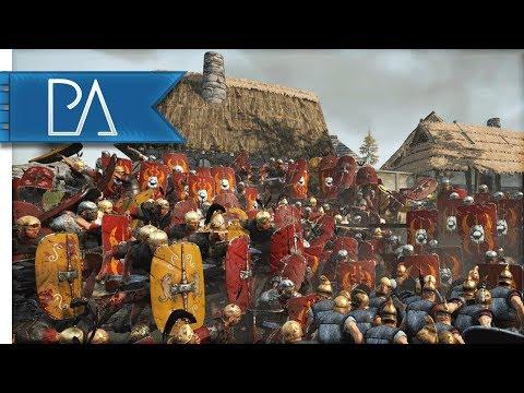 Roman Empire Lay Siege To Barbarian Scum - Total War: Rome 2