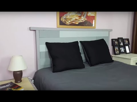 fabrication d 39 une t te de lit youtube. Black Bedroom Furniture Sets. Home Design Ideas