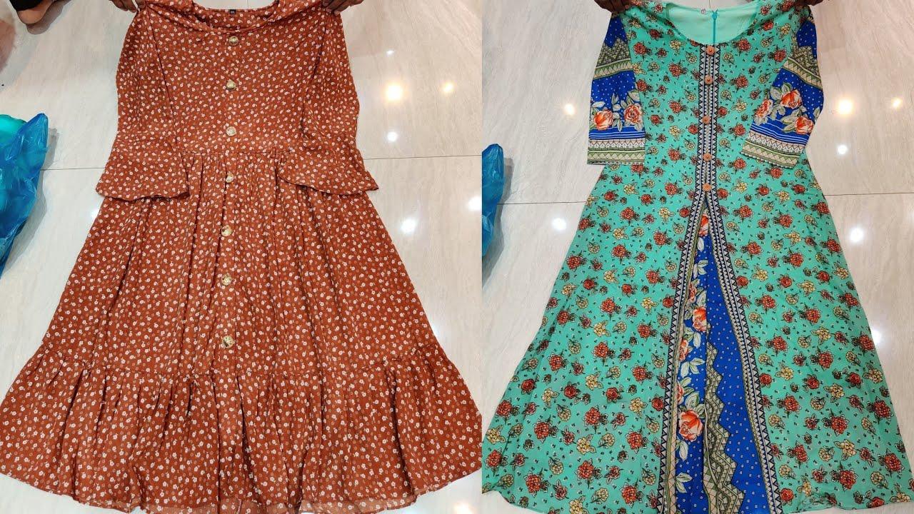 সরাসরি পাইকারি দোকান থেকে পার্টি ড্রেস/ওয়ানপিস/টপস   Western Onepiece tops collection