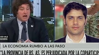 """""""Kicillof es comunista"""" Javier Milei en A24- 14/07/19"""