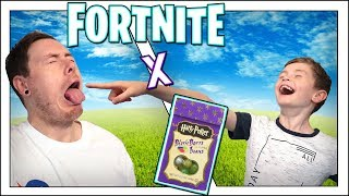 FORTNITE X BERTIE BOTTS EVERY FLAVOUR BEAN CHALLENGE! *REVOLTING* 😷
