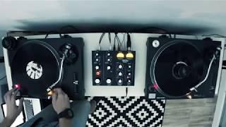 Vinyl mix with MasterSounds Radius 2 rotary mixer