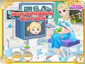 Princess Elsa Video Game - Super Princess Mommy - Enjoydressup.com
