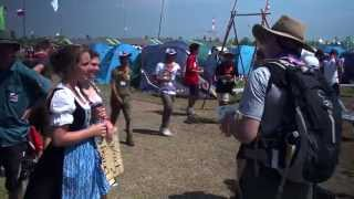 Cultural Exchange Day of the 23rd World Scout Jamboree in Japan