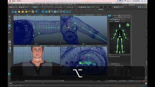 3D Basics in Maya - Rigging and Skinning with HumanIK