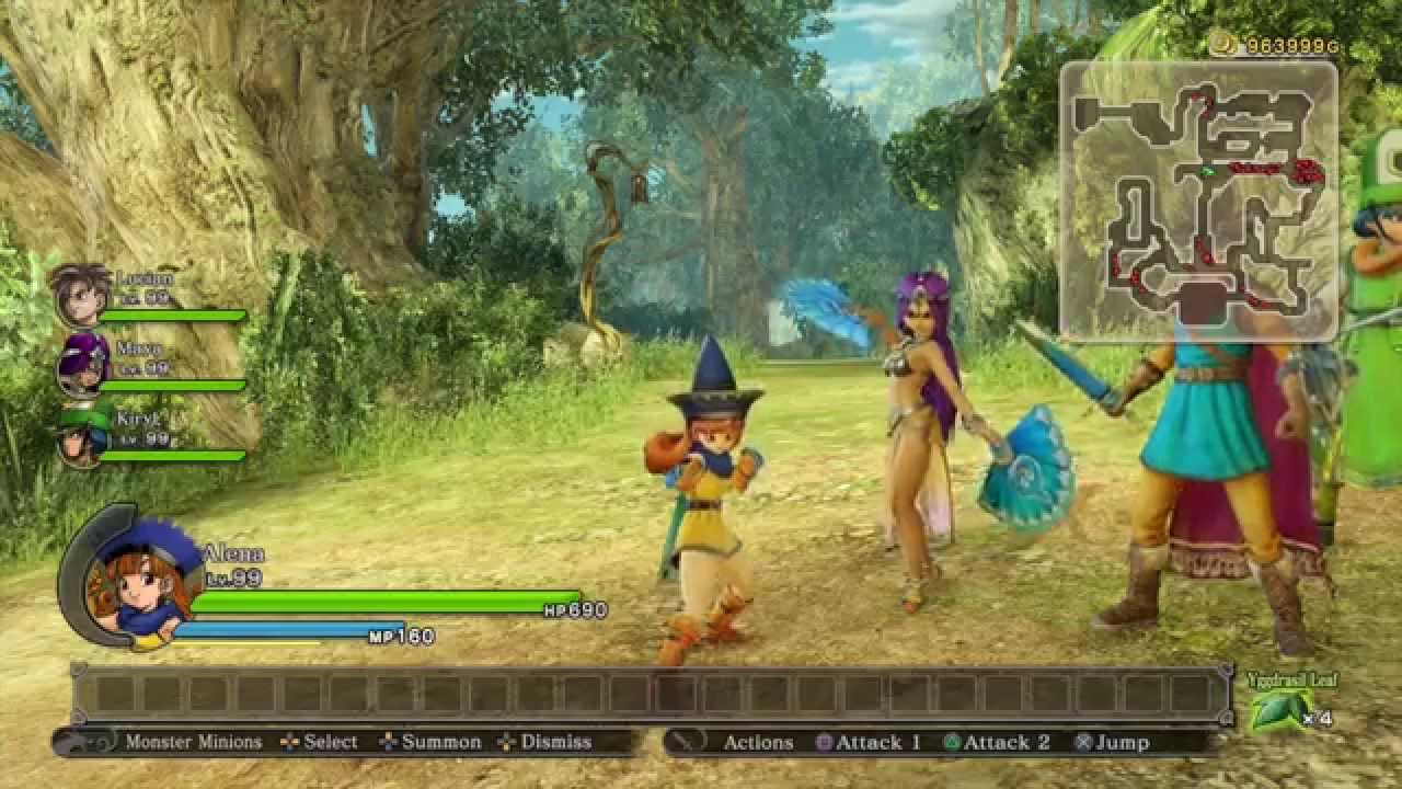 5 Square Enix Plays Dragon Quest Heroes Dragon Quest Iv Character Guide Youtube