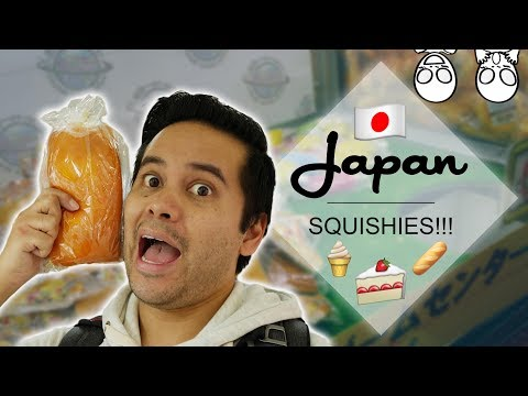 Winning TONS of food squishies in Japan! Plus food squishy GIVEAWAY! | Crane Couple in Japan Ep 10