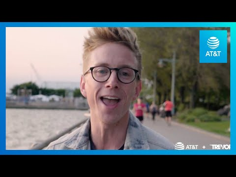 Tyler Oakley Visits The Trevor Project, NYC | AT&T Turn Up The Love