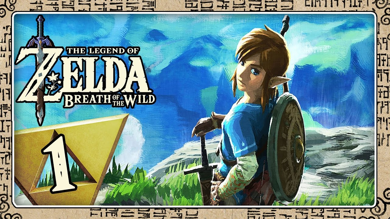 THE LEGEND OF ZELDA BREATH OF THE WILD Part 1: Die Wildnis ruft, Link! Öffne deine Augen! #1