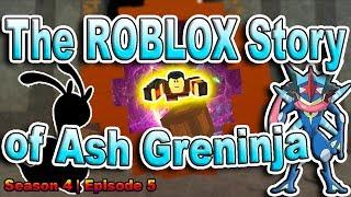 A história ROBLOX de Ash-Greninja | S4 E5 | ~ ROBLOX série