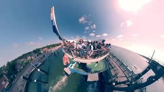 Vlieland juli 2018, veerboot.