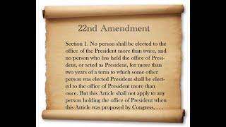 Twenty-second Amendment to the United States Constitution