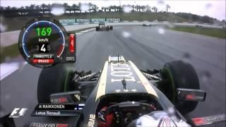 F1 2013 Onboard Raikkonen - Malaysia