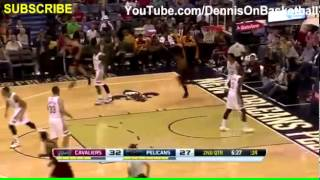 Kyrie Irving Blows by Austin Rivers  Cavaliers vs Pelicans  November 22, 2013  NBA 2013 2014