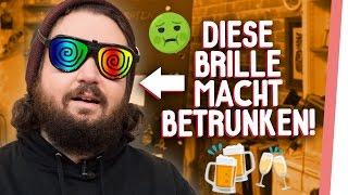 DRUNK GOGGLES | 1,3 Promille: Kelly & Sturmwaffel total BESOFFEN!