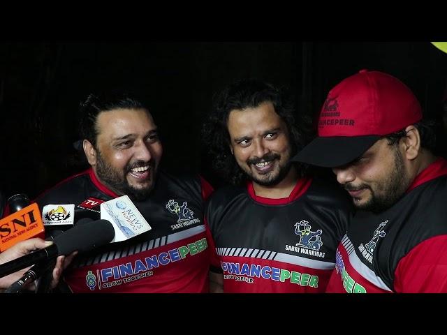A Friendly Cricket Match Between RAJ XI And SABRI WARRIORS