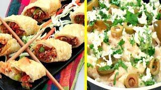 Veg Spring Rolls / American Chopsuey Suey Recipe | Village Travel Food