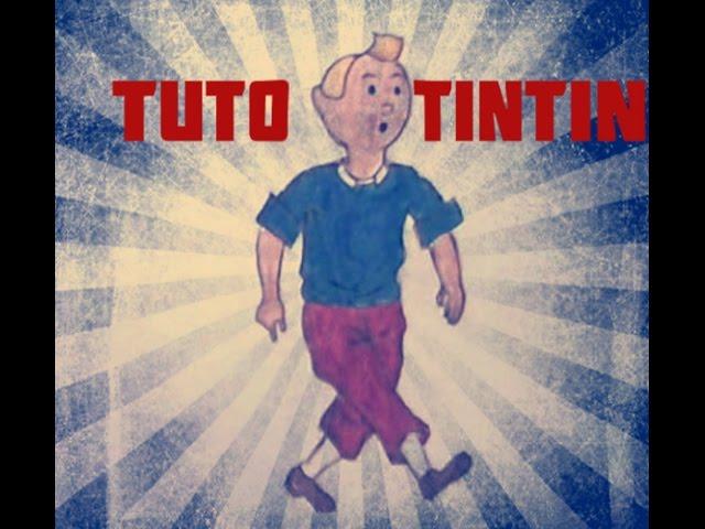 Tutoriel dessin Tintin (2/5)