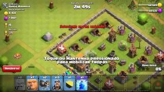 Primero vídeo do canal de clash of clans e clash royale
