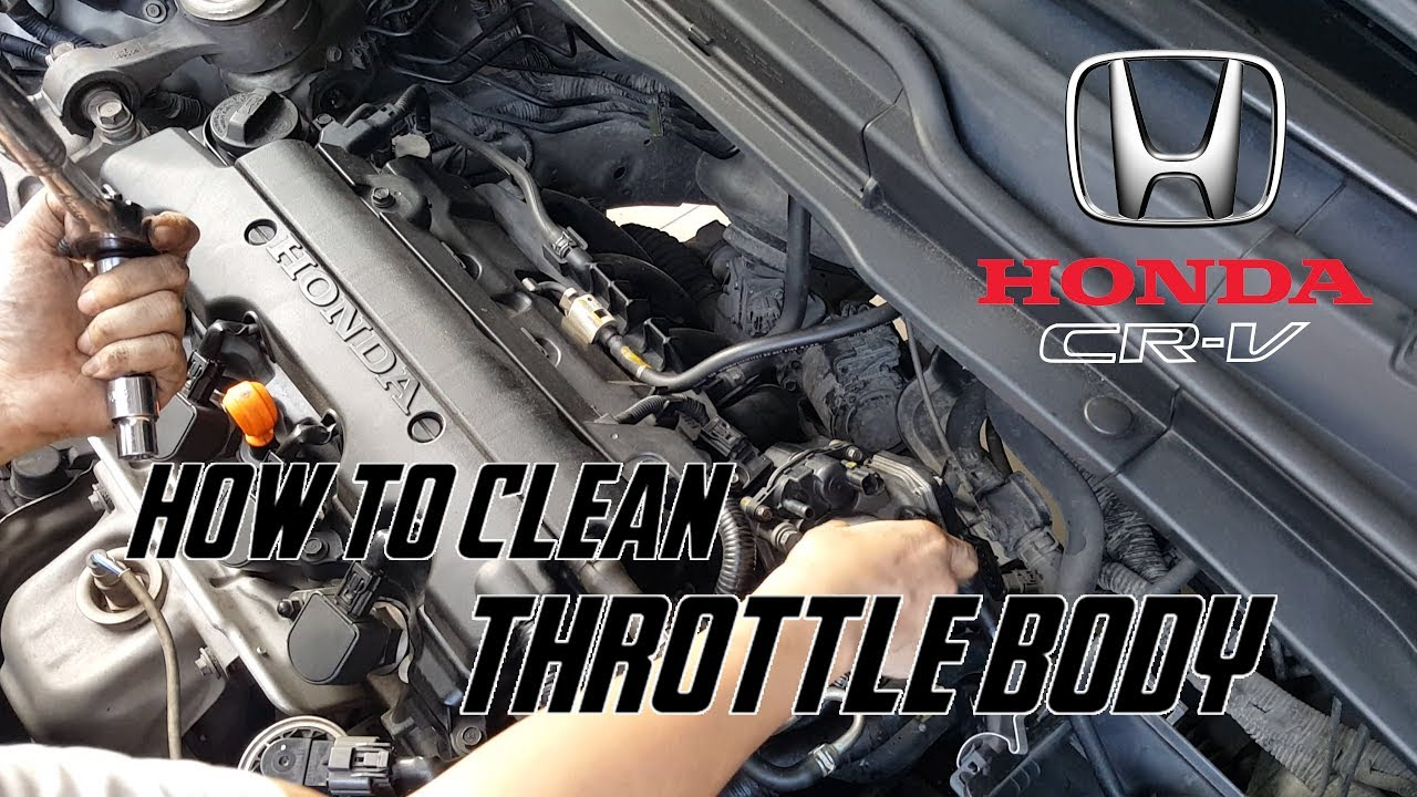 hight resolution of how to clean throttle body honda crv civic r20a1