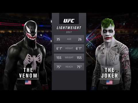 Venom vs. Joker  (EA Sports UFC 2) - CPU vs. CPU