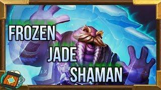 Hearthstone : Deck Tech Frozen Jade Shaman Knights Of The Frozen Throne