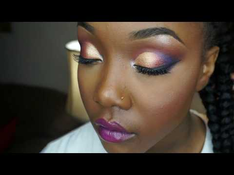 Colorful Client makeup application by MakeupMesha