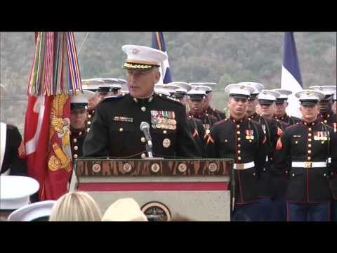 5th Marines Dedicate OEF Memorial to Their Fallen (Speech -- Gen. Kelly)
