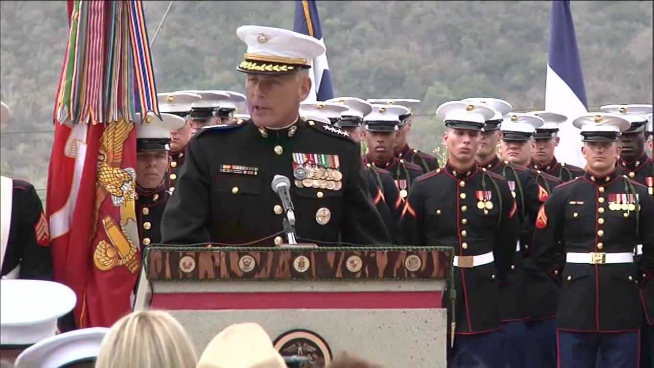 5th Marines Dedicate Oef Memorial To Their Fallen Speech
