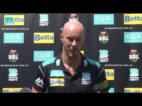 Press Conference - Chris Lynn 5 Year Extension