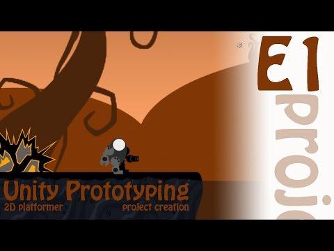 2D Prototyping in Unity - Tutorial - Platformer - Free Parallax